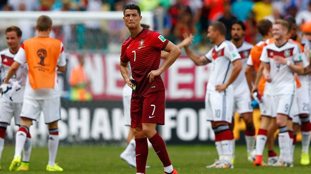 Cristiano Ronaldo gegen Deutschland - Bildquelle: 2014 Getty Images