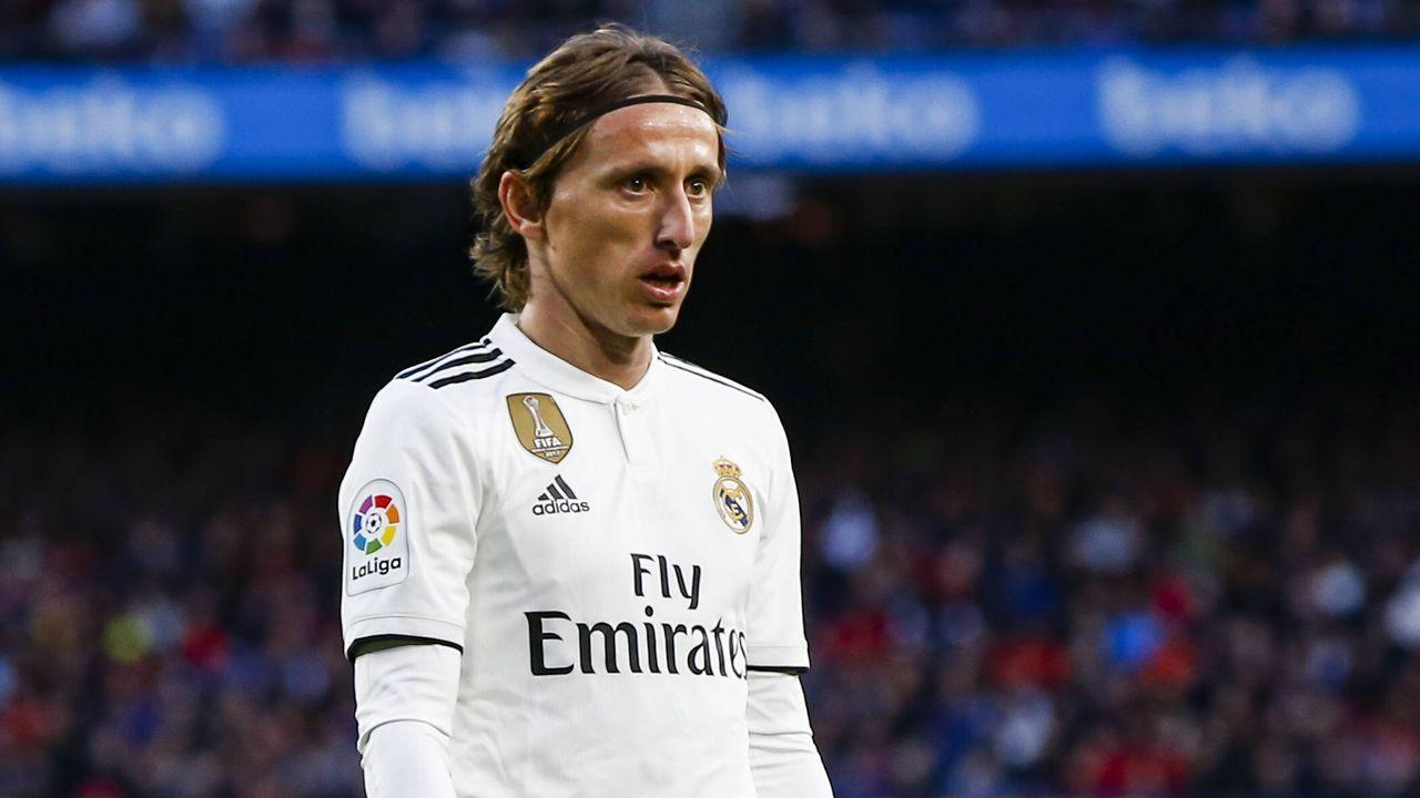 Luka Modric (Real Madrid) - Bildquelle: imago