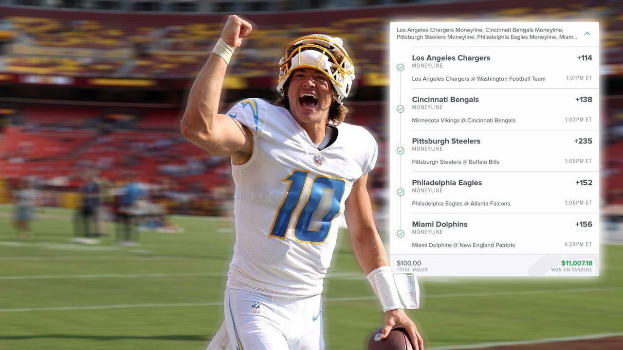 Geldregen zum NFL Season Opener  - Bildquelle: Getty Images, Twitter/br_betting