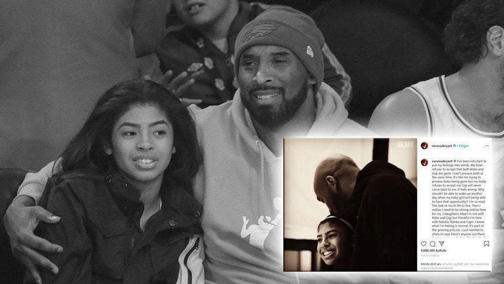Vanessa Bryant äußert sich zum Tod von Ehemann Kobe und Tochter Gianna - Bildquelle: imago images / ZUMA Press