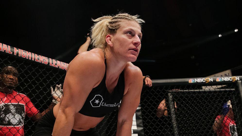 Kayla Harrison hat das Finale fest im Blick - Bildquelle: PFL MMA