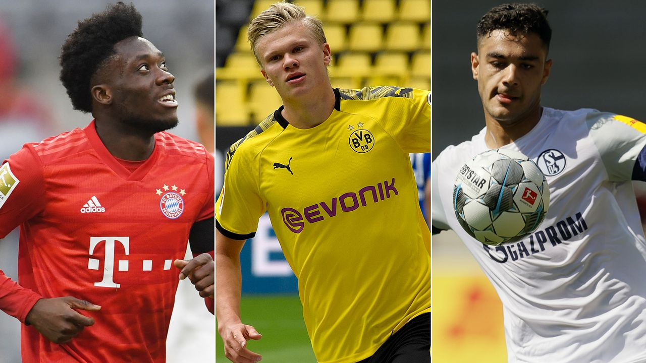 Die Bundesliga-Kandidaten für den Golden Boy 2020 - Bildquelle: Getty Images/Imago