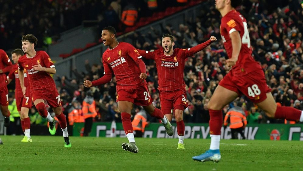 Liverpool bezwang nach einem Krimi den FC Arsenal - Bildquelle: AFPSIDPaul ELLIS