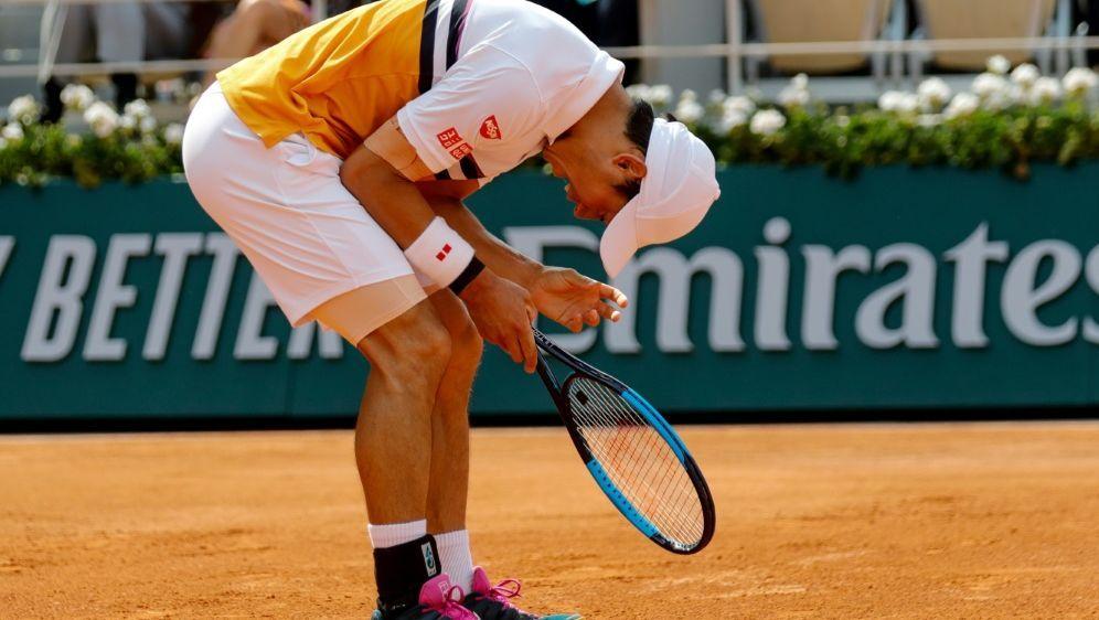 Kei Nishikori fehlt beim ATP-Turnier in Halle - Bildquelle: AFPSIDThomas SAMSON