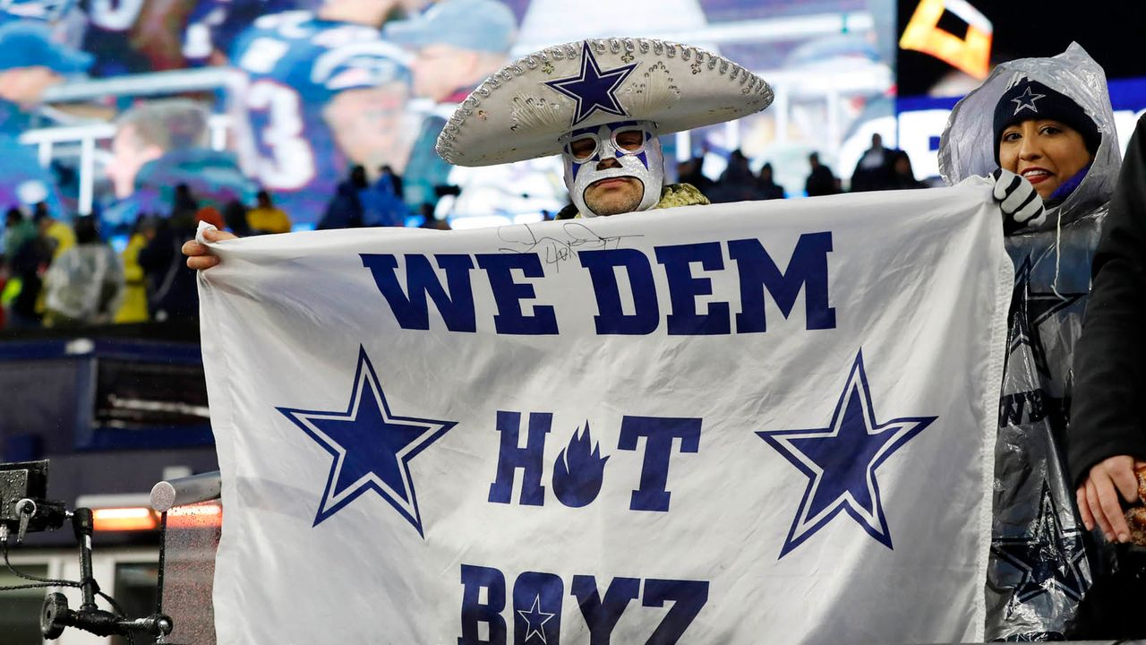Platz 1: Dallas Cowboys - Bildquelle: imago images/Icon SMI