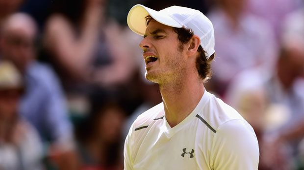 Andy Murray - Bildquelle: 2015 Getty Images