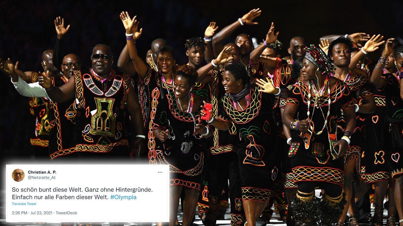 Kamerun: Ein modisches Highlight!  - Bildquelle: 2018 Getty Images