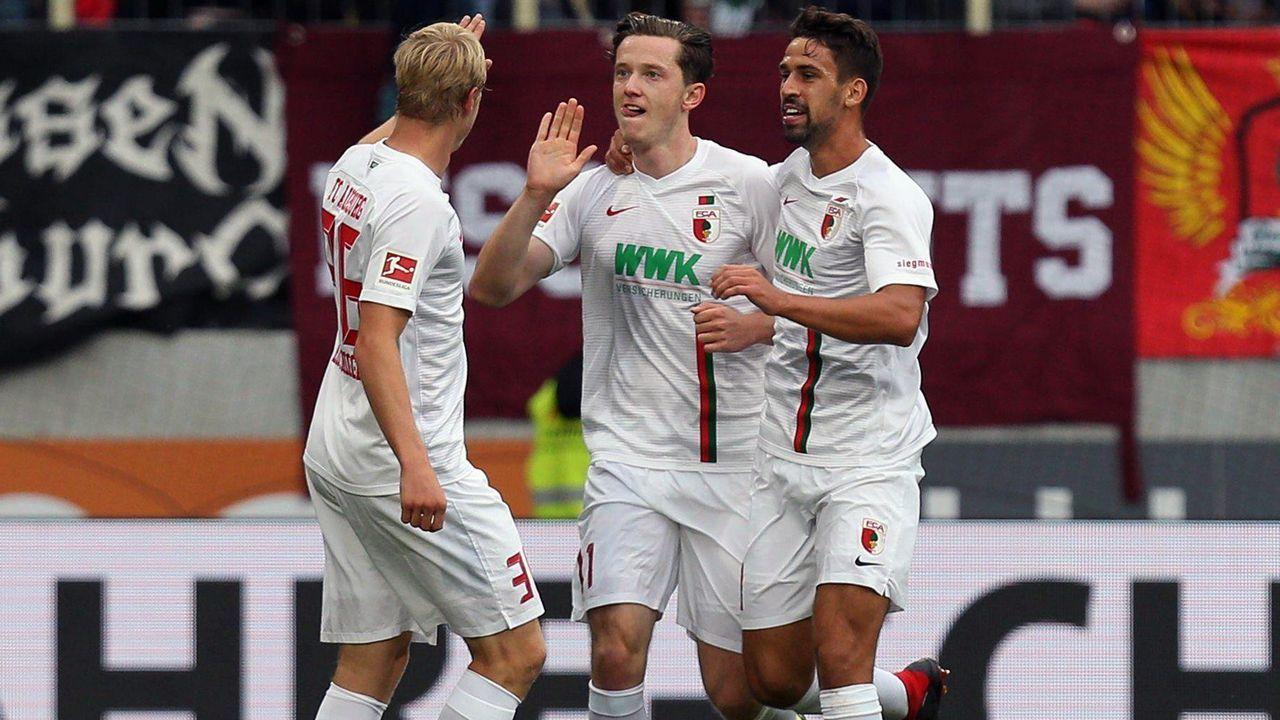 Platz 6 - FC Augsburg - Bildquelle: imago/kolbert-press
