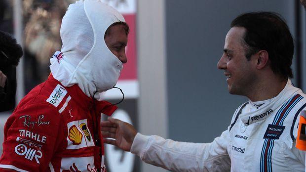 Stinkefinger gegen Felipe Massa - Bildquelle: imago/Crash Media Group
