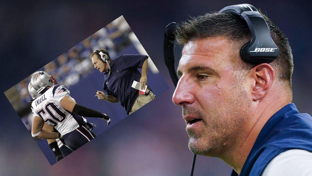 Mike Vrabel spielte bei den New England Patriots unter Bill Belichick. Nun s... - Bildquelle: imago images/Icon SMI