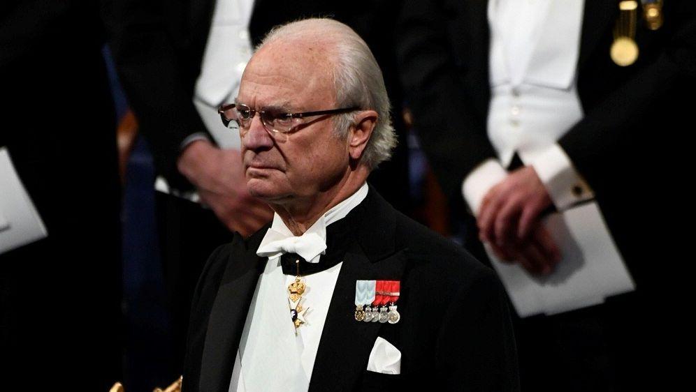 König Carl Gustaf sorgt mit seinen Aussagen für Empörung - Bildquelle: AFPSIDJONATHAN NACKSTRAND