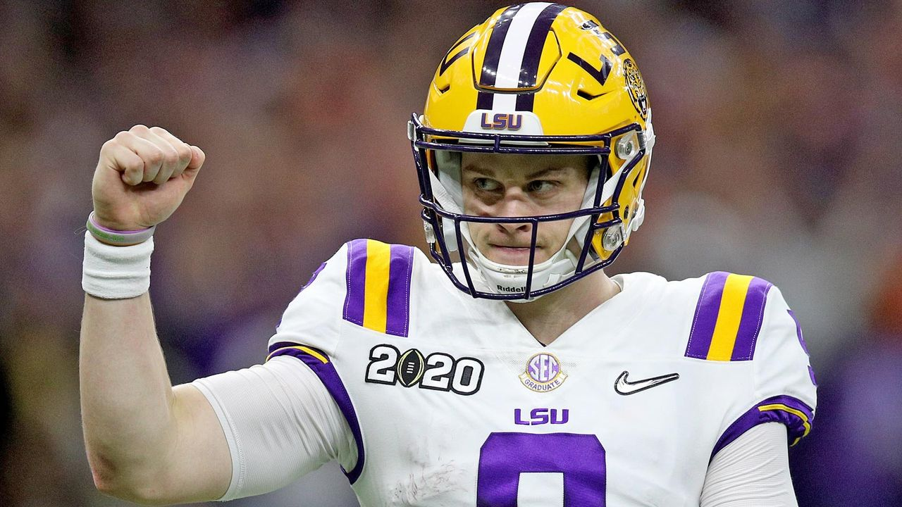 Joe Burrow (LSU)  - Bildquelle: 2020 Getty Images