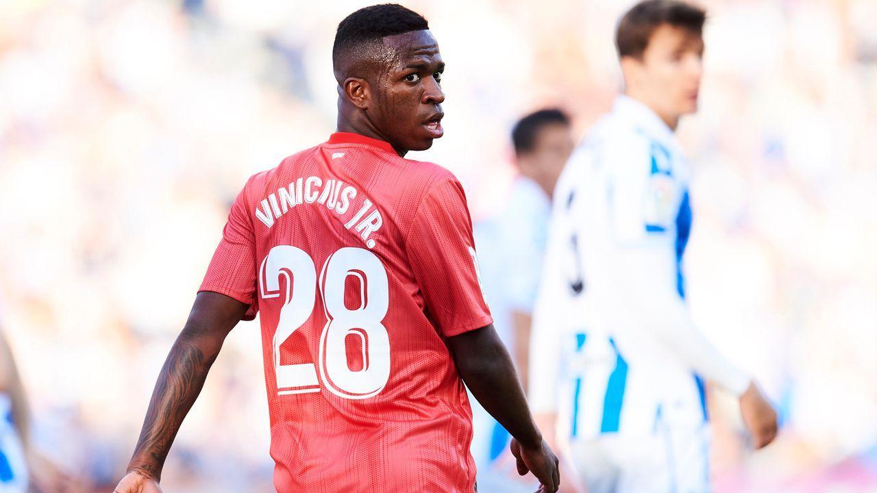 Platz 10 - Vinicius Junior - Bildquelle: 2019 Getty Images