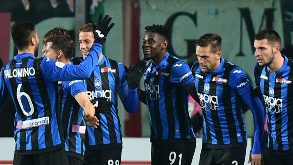 Bergamo könnte erstmals die Champions League erreichen - Bildquelle: AFPSIDMIGUEL MEDINA