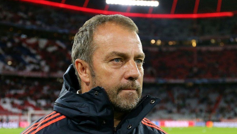 Genießt den Job als Cheftrainer: Hansi Flick - Bildquelle: FIROFIROSID