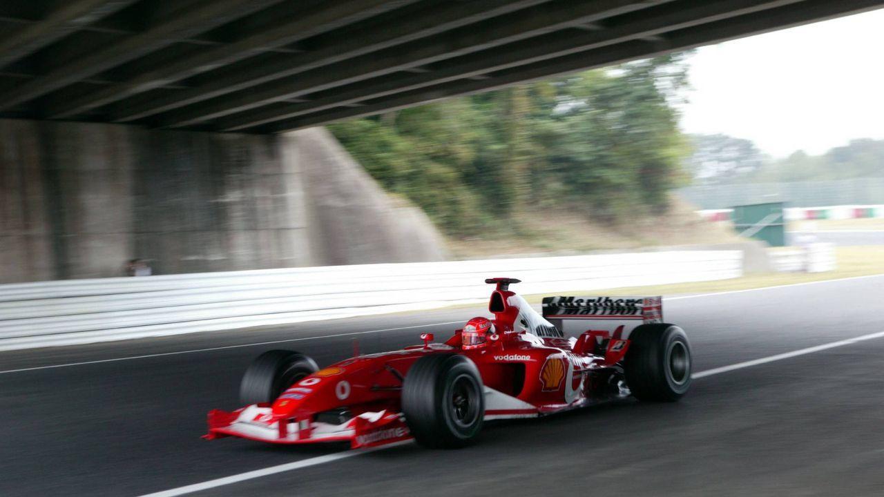 Michael Schumacher wird zum sechsten Mal Weltmeister - Bildquelle: Imago