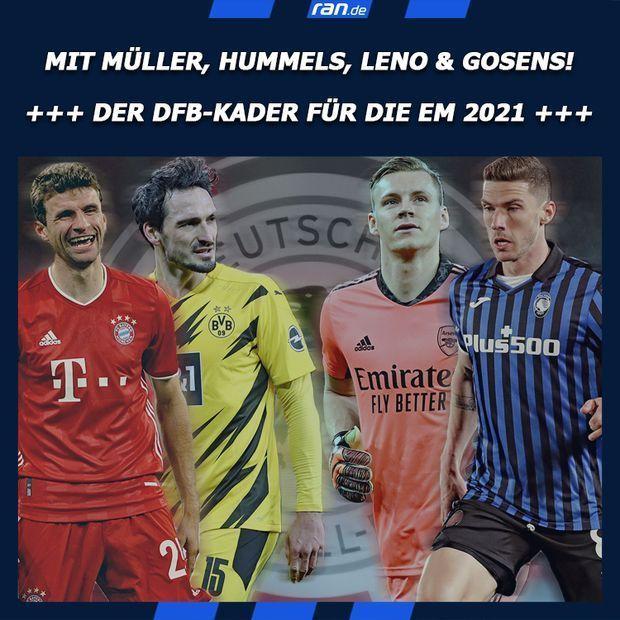 Link in Bio - DFB-Kader für die EM 2021