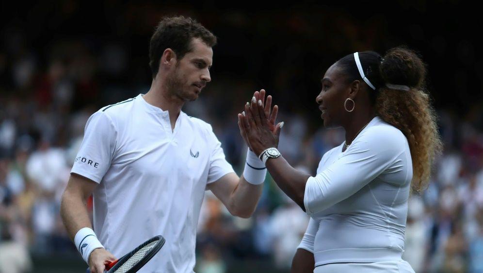 Andy Murray und Serena Williams gewinnen zweites Match - Bildquelle: PIXATHLONPIXATHLONSID