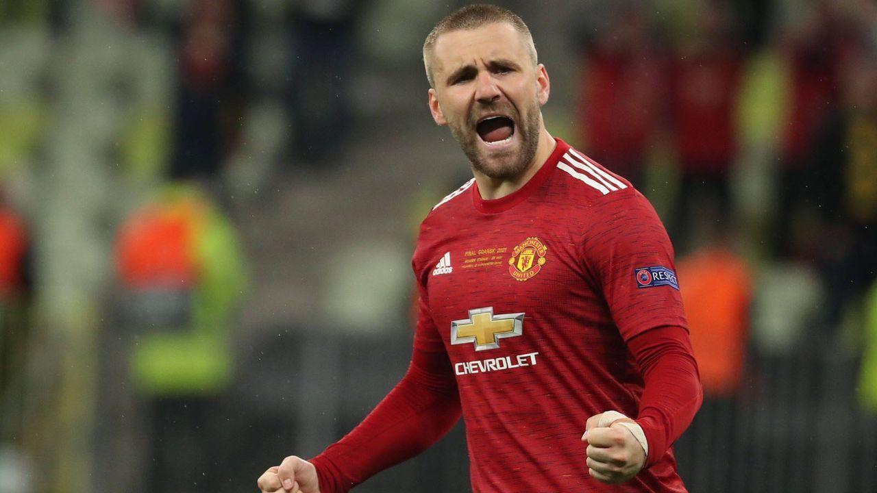 Verteidigung: Luke Shaw (Manchester United) - Bildquelle: imago images/Agencia EFE
