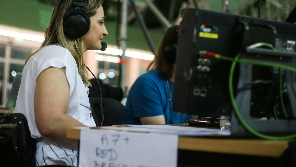 Kristina Vogel arbeitet zukünftig als Expertin beim ZDF - Bildquelle: PIXATHLONPIXATHLONSID