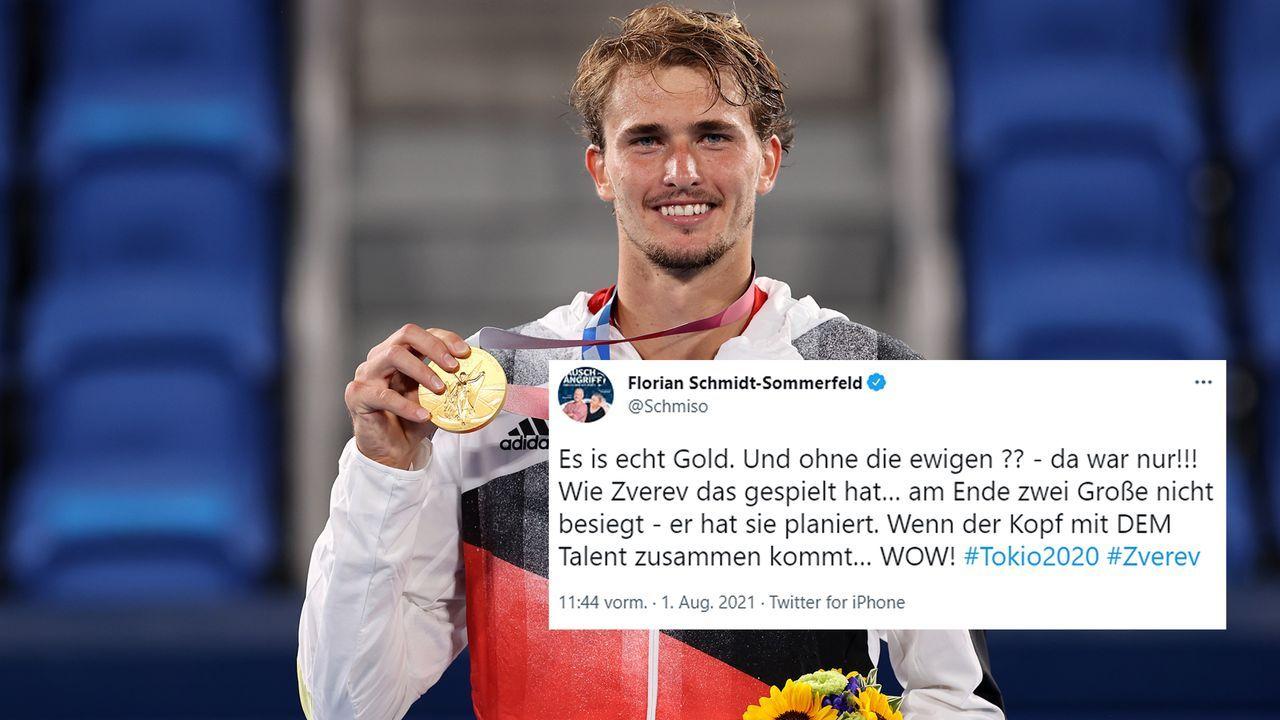Florian Schmidt-Sommerfeld - Bildquelle: Getty Images/twitter@Schmiso
