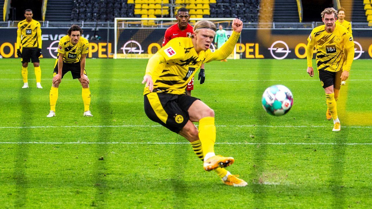Platz 4: Borussia Dortmund - Bildquelle: David Inderlied/Kirchner-Media/pool