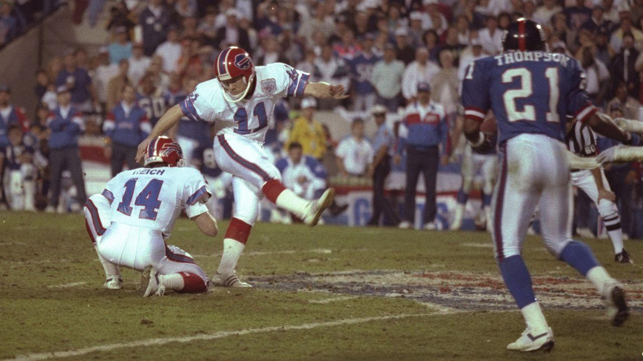 Season 1990: Scott Norwood (Buffalo Bills) - Bildquelle: Getty Images