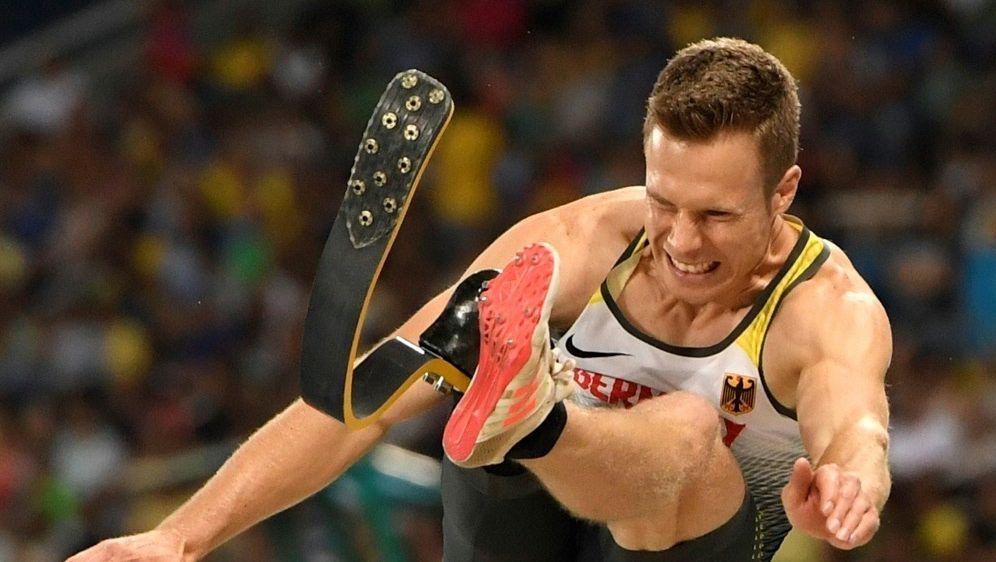 Markus Rehm kämpft bei der WM in Doha um eine Medaille - Bildquelle: AFPSIDCHRISTOPHE SIMON