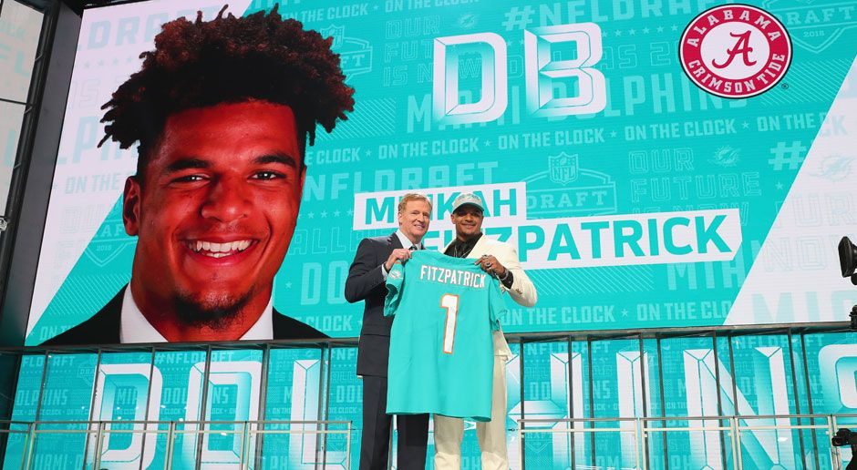 11. Minkah Fitzpatrick (Defensive Back, Miami Dolphins)  - Bildquelle: 2018 Getty Images