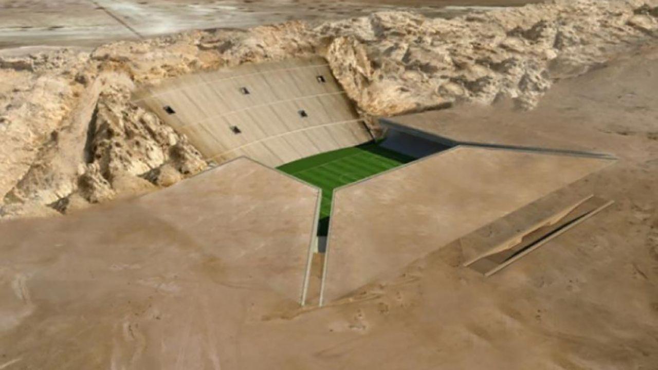 Rock Stadium (Vereinigte Arabische Emirate) - Bildquelle: Twitter/AlainBKK