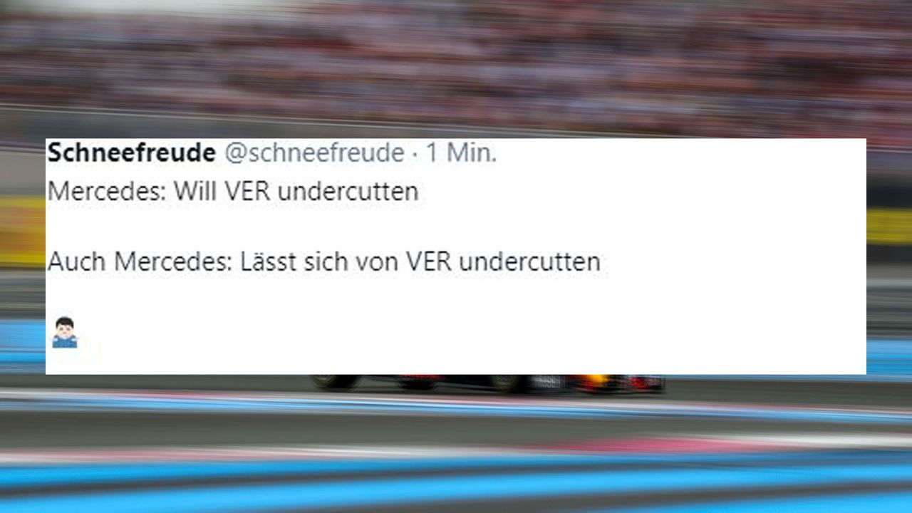 Mercedes lässt sich übertölpeln - Bildquelle: imago images/Motorsport Images