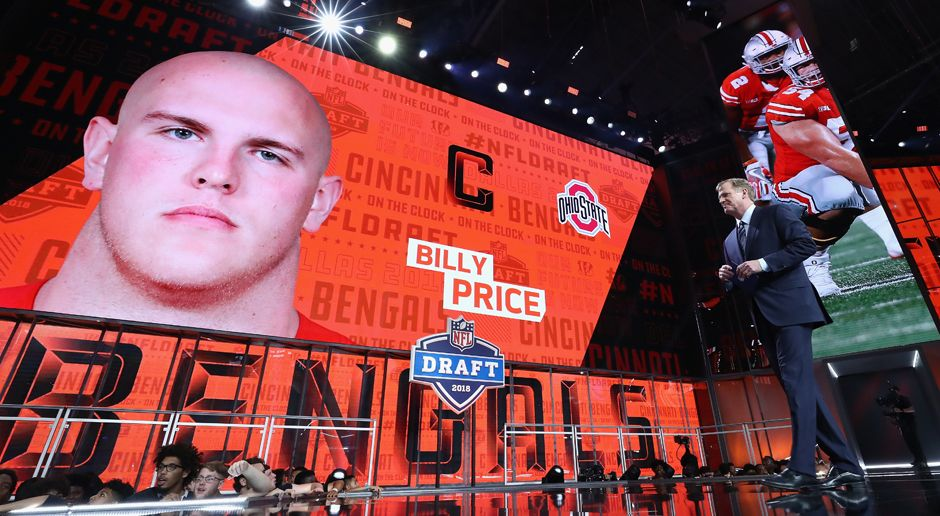 21. Pick - Cincinnati Bengals: C Billy Price - Bildquelle: getty
