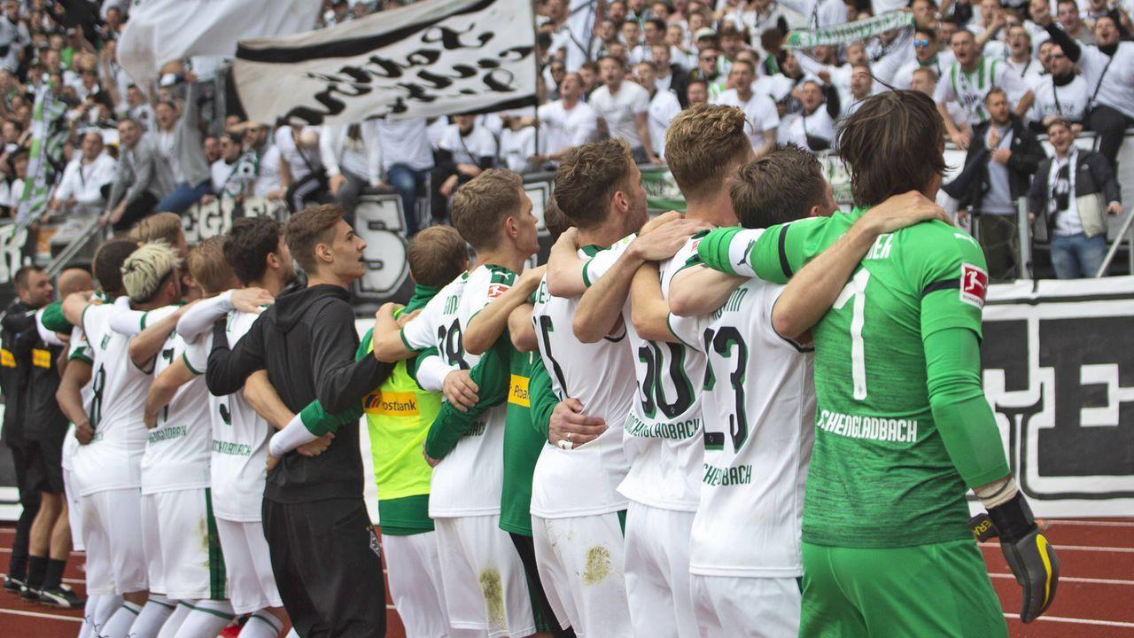Platz 4: Borussia Mönchengladbach - Bildquelle: imago images / Sven Simon