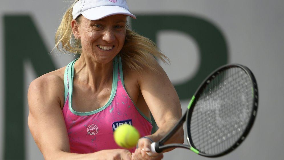 Für Mona Barthel ist im Halbfinale Endstation - Bildquelle: AFPSIDERIC FEFERBERG