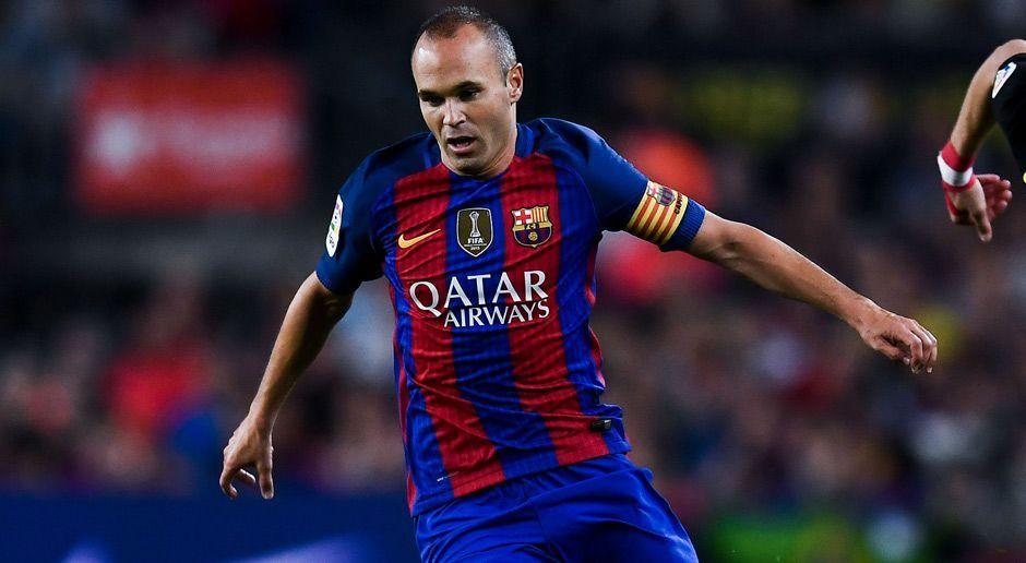 Zentraler Mittelfeldspieler: Andres Iniesta - Bildquelle: Getty Images