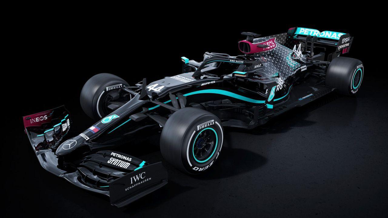 Mercedes AMG F1 W11 - Bildquelle: twitter.com/MercedesAMGF1