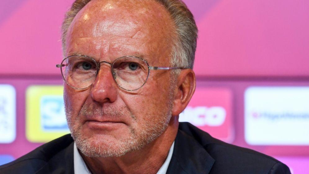 Vorstandschef des FC Bayern: Karl-Heinz Rummenigge - Bildquelle: AFPSIDCHRISTOF STACHE
