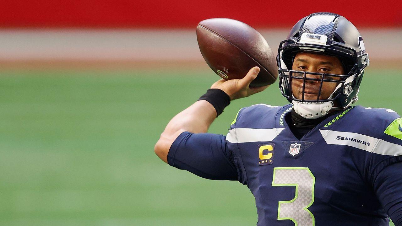 Platz 4: Russell Wilson (Seattle Seahawks) - Bildquelle: 2021 Getty Images