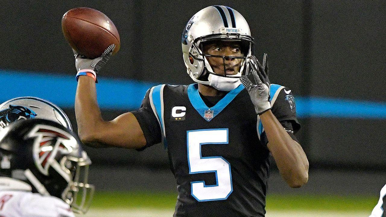 Platz 10: Teddy Bridgewater - Carolina Panthers (Letzte Platzierung: Nicht in den Top 10)