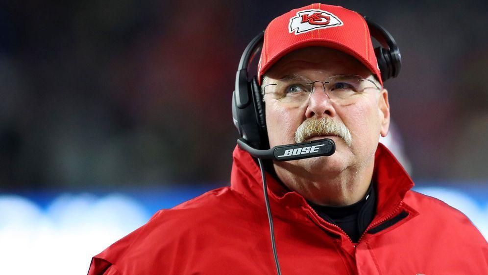 Andy Reid ist seit 2013 Head Coach in Kansas City. - Bildquelle: 2019 Getty Images