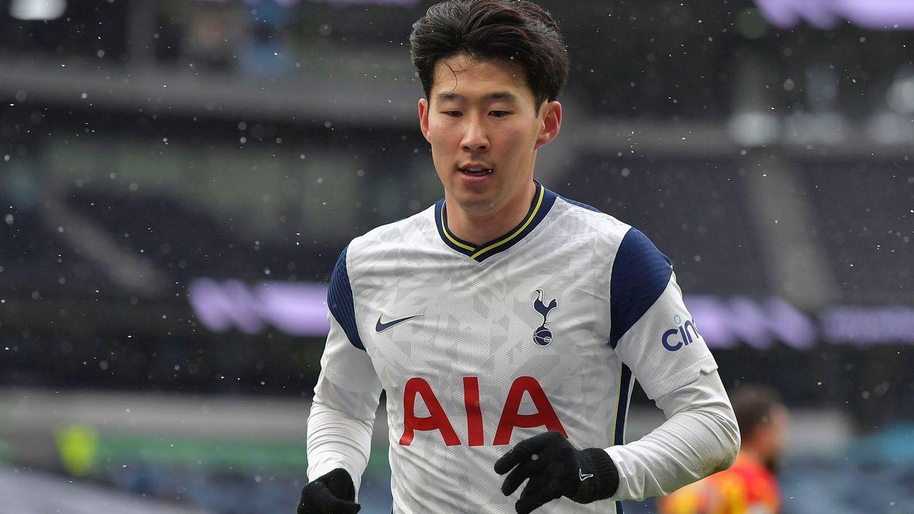 Angriff: Heung-min Son (Tottenham Hotspur) - Bildquelle: imago images/Shutterstock