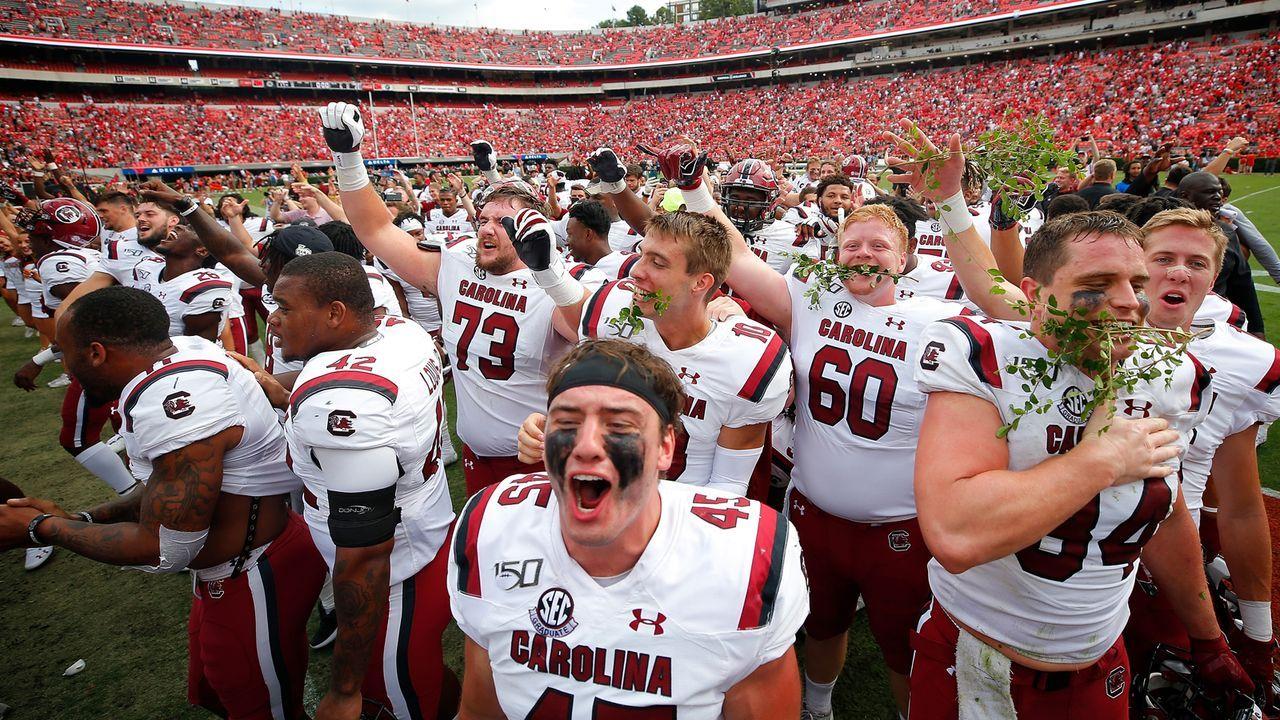 South Carolina Gamecocks: Name geht auf Kriegsheld zurück - Bildquelle: 2019 Getty Images