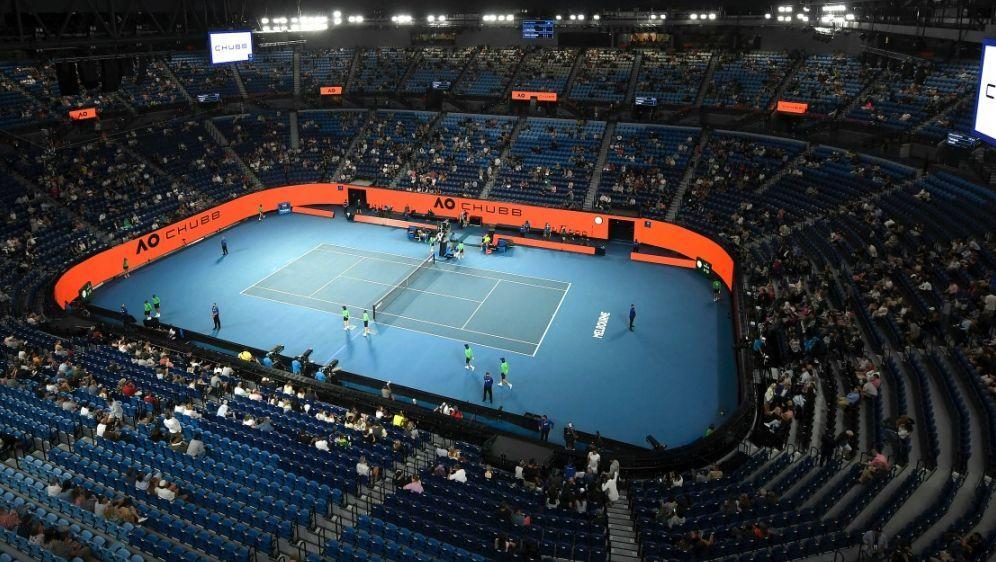 Ab Samstag dürfen keine Zuschauer mehr auf die Anlage - Bildquelle: TENNIS AUSTRALIATENNIS AUSTRALIASIDMORGAN HANCOCK