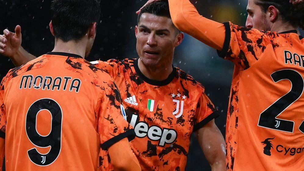 Cristiano Ronaldo brachte Juventus Turin den späten Sieg - Bildquelle: AFPSIDMARCO BERTORELLO