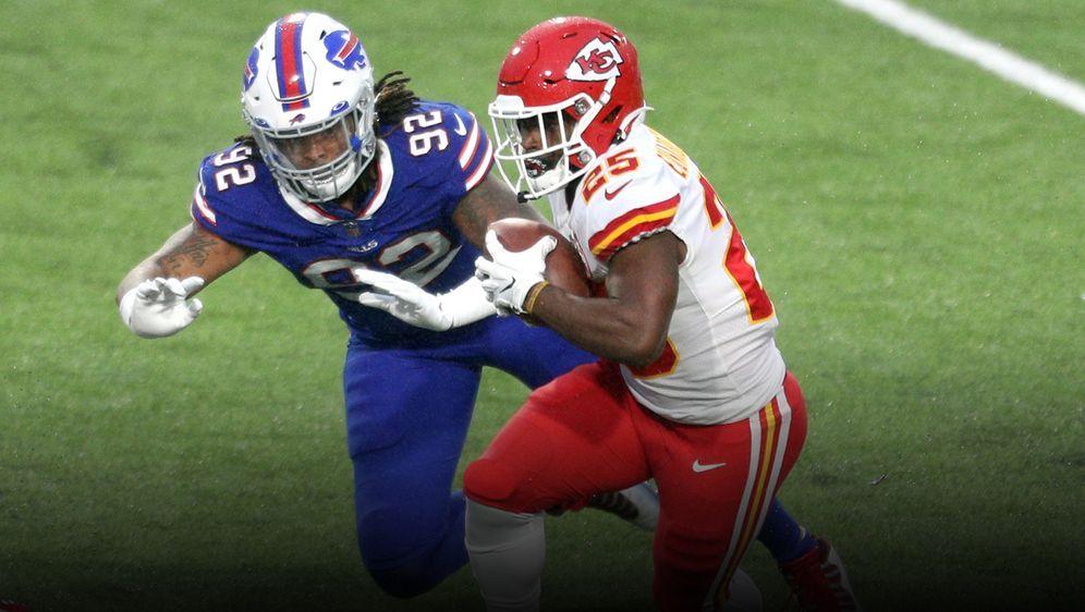 Clyde Edwards-Helaire gegen die Buffalo Bills: unaufhaltsam. - Bildquelle: Getty
