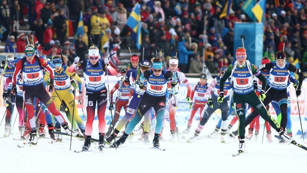 Auch Biathlon soll in die Doping-Affäre verwickelt sein - Bildquelle: PIXATHLONPIXATHLONSID