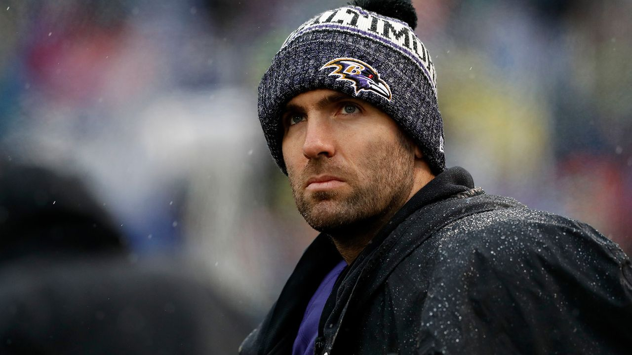 Joe Flacco - Bildquelle: 2018 Getty Images