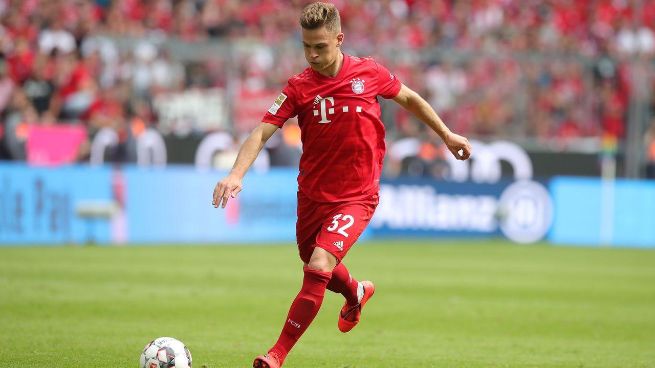 Platz 2 - Joshua Kimmich (FC Bayern München) - Bildquelle: 2019 Getty Images