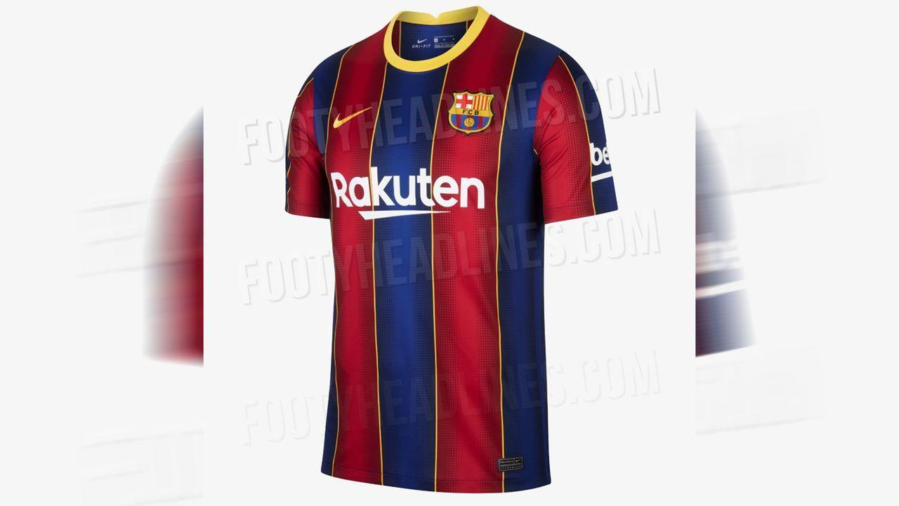 FC Barcelona (Heimtrikot) - Bildquelle: twitter@Footy_Headlines