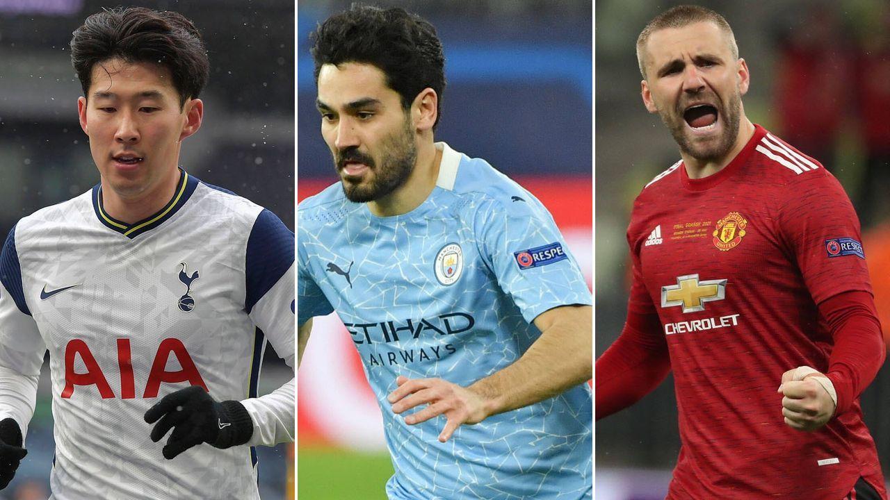 Premier League: Die Elf des Jahres 2020/2021 - Bildquelle: imago